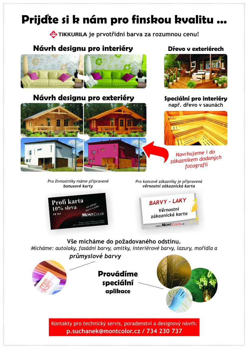 Nová prodejna Barvy Laky Hranice